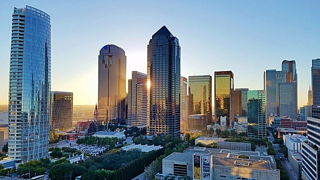 Dallas, no Texas (Foto: Gattacal/Wikimedia Commons)