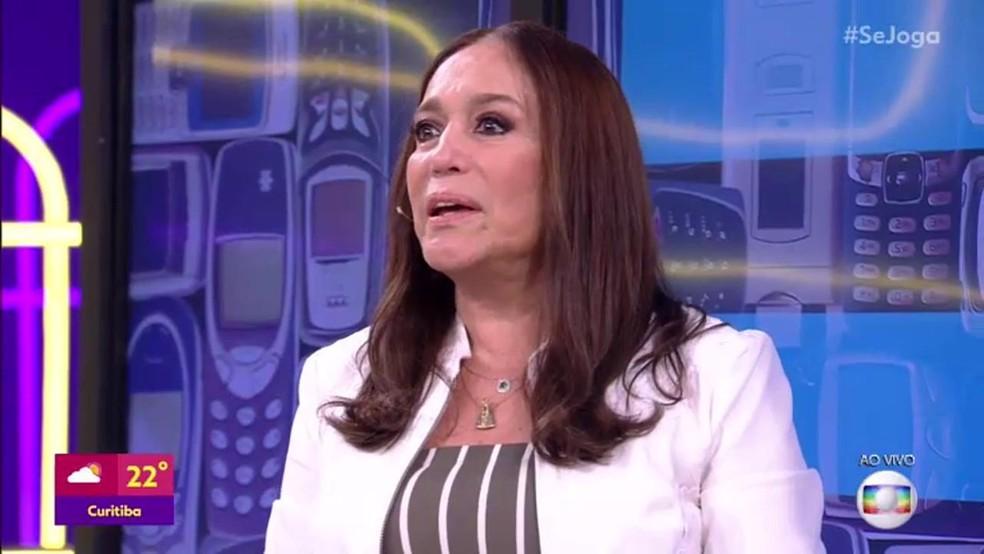 Susana Vieira no 'Se Joga' — Foto: TV Globo