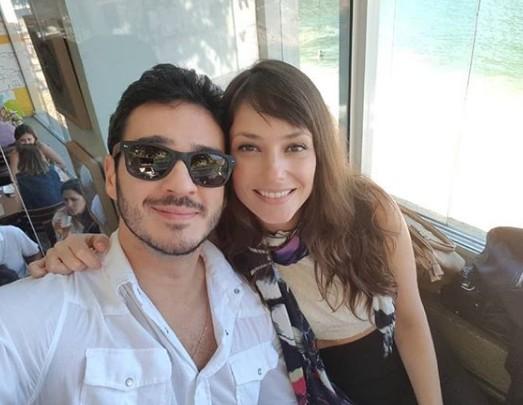 Marcos Veras e Rosanne Mulholland  (Foto: Reprodução Instagram)