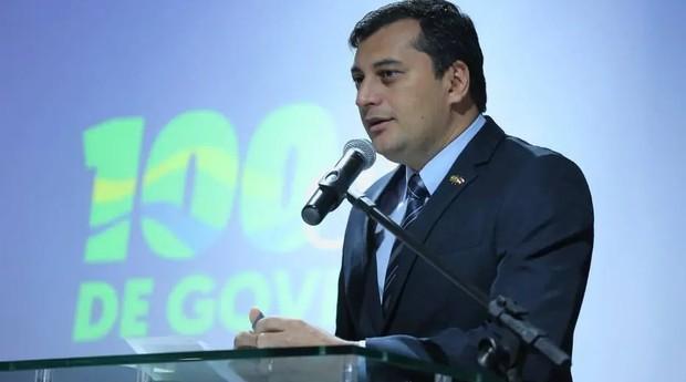 O governador do Amazonas, Wilson Lima (PSC) (Foto: Diego Peres / Secom-AM / Reprodução)