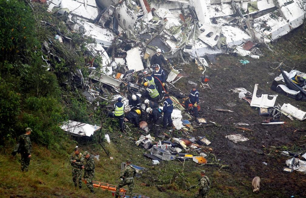 Acidente ocorreu em novembro de 2016 — Foto: Agência Reuters