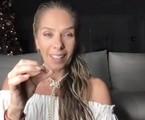 Adriane Galisteu   Reprodução/ YouTube