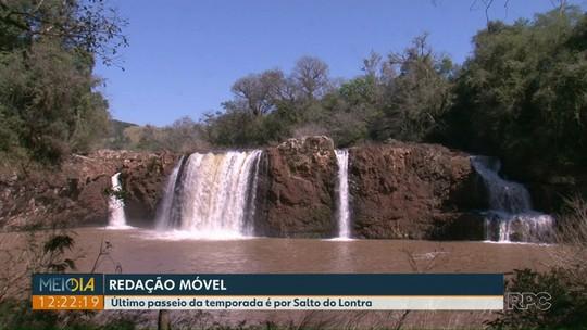 Meio-Dia Paraná visita a cidade de Salto do Lontra