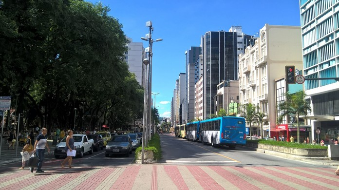 Resultado de imagem para Trânsito sofre alterações na Avenida Rio Branco em Juiz de Fora