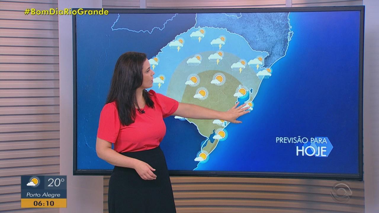 Sexta-feira (15) tem predomínio de sol no Rio Grande do Sul