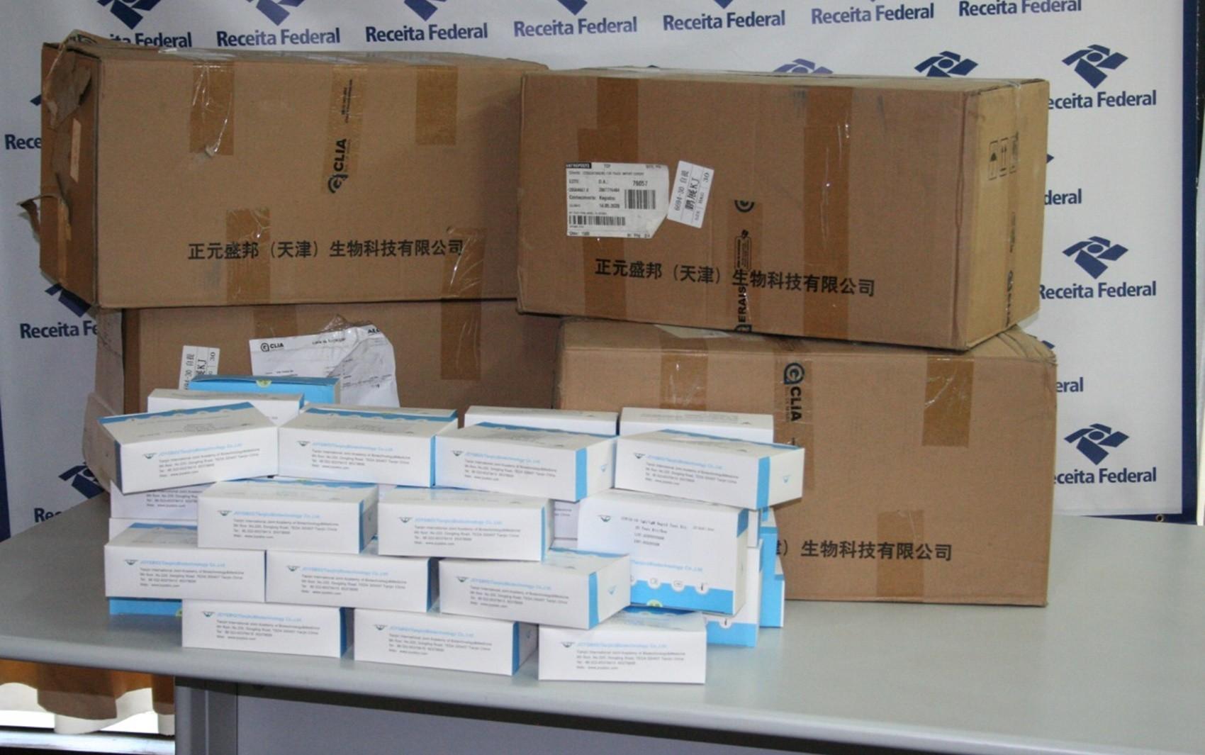 Covid-19: Receita Federal doa 30 mil testes rápidos para as maiores cidades do Sul de MG e Regional de Saúde de Alfenas