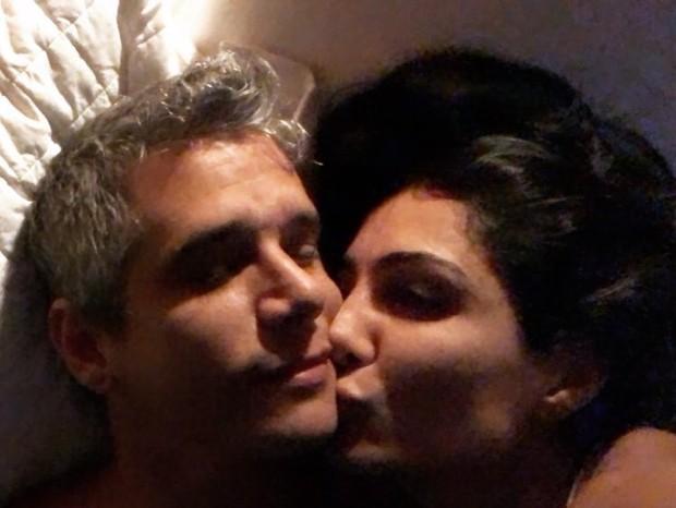 Andrea Santa Rosa  e Márcio Garcia (Foto: Reprodução/Instagram)
