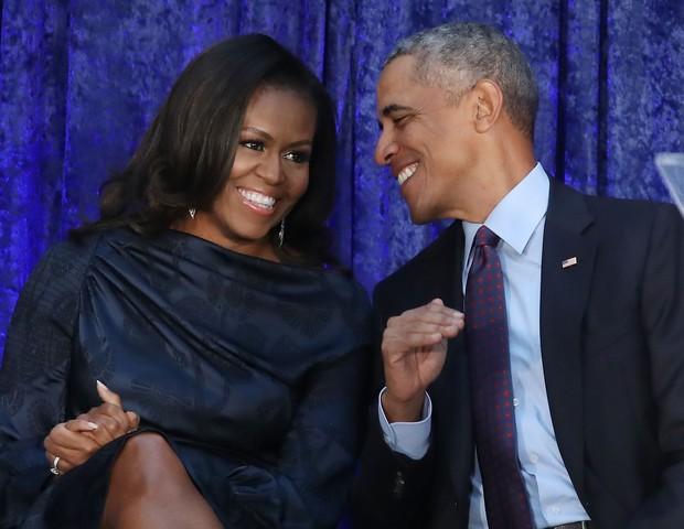 Michelle e Barack Obama já são casados há mais de 25 anos (Foto: Getty Images)