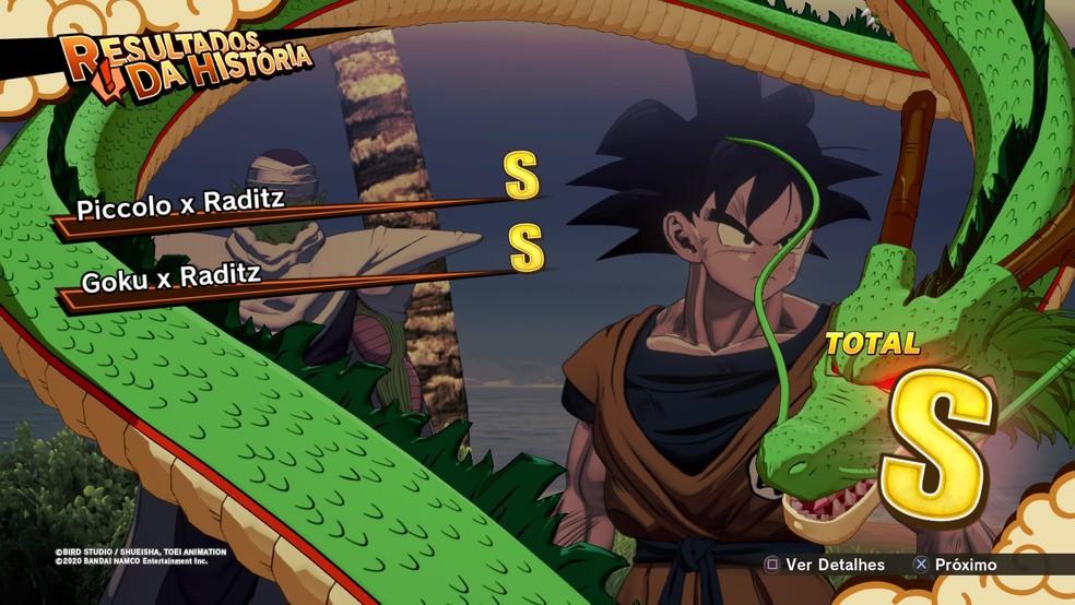 Dragon Ball Z: Kakarot ainda consegue ser divertido no geral — Foto: Reprodução/Felipe Vinha