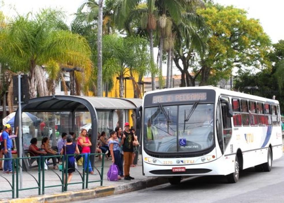 Tarifa do transporte coletivo estava congelada desde 2017 ao usuário comum — Foto: Alex Brito/Prefeitura de Jacareí