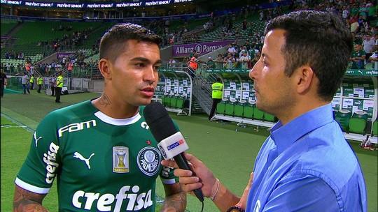 Dudu comemora renovação com o Palmeiras e fala em meta de ser convocado pela seleção brasileira