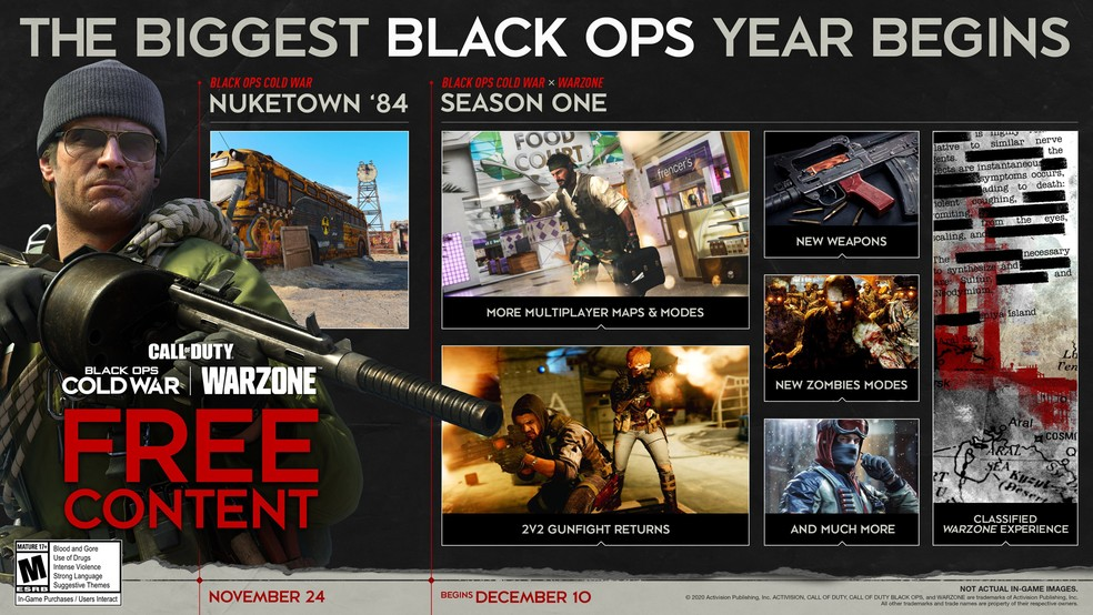 Season One comes to the game in December. (Image: Activision)