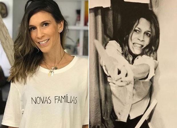 Sarah Oliveira se impressiona com semelhança com  Jamie Lee Curtis (Foto: Reprodução/Instagram)