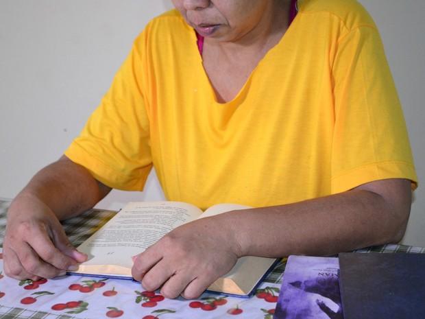 Detenta conta que foram meses de estudo em Vilhena (Foto: Aline Lopes/ G1)