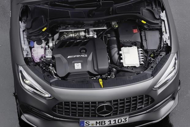 Mercedes-AMG GLA45 S motor (Foto: Divulgação)