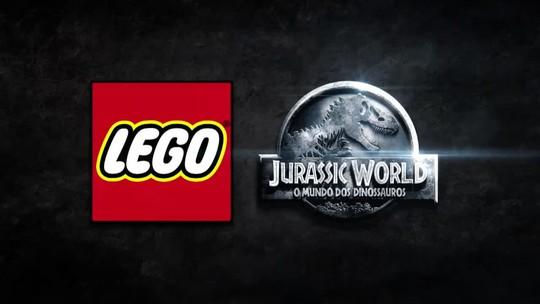 LEGO Jurassic World ganha primeiro trailer com T-Rex de plástico