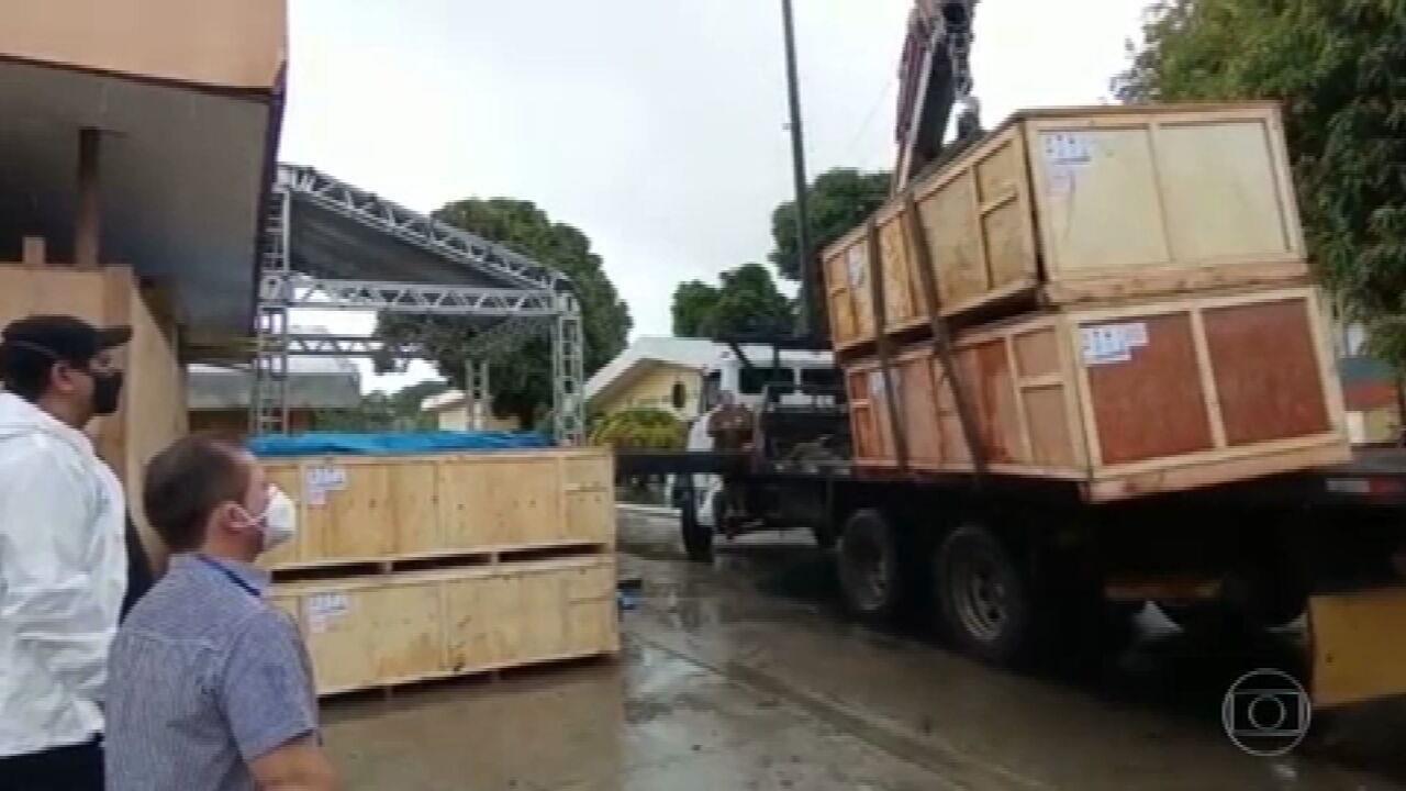 Segundo município mais populoso do Amazonas recebe equipamentos de UTI