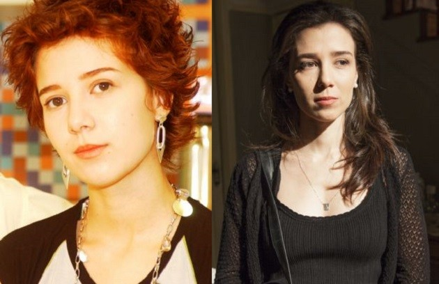 Marjorie Estiano foi Natasha, estrela da Vagabanda, na 11ª temporada. A atriz estava com os cabelos vermelhos e curtinhos, bem diferente do visual atual (Foto: Arquivo)
