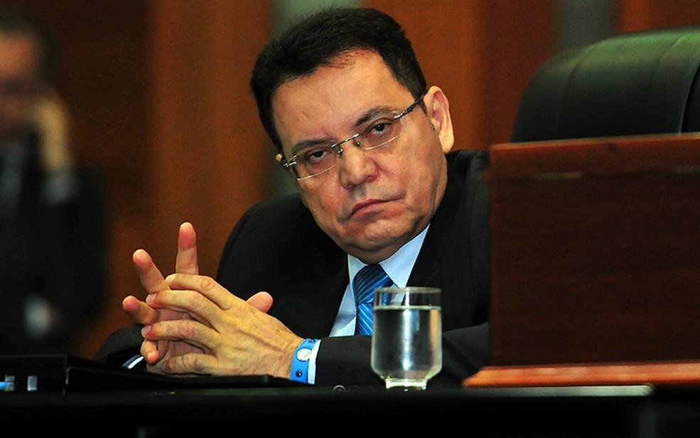 Deputado Eduardo Botelho (PSB), que assumiu o governo do estado no último domingo (12) (Foto: Maurício Barbant/ALMT)