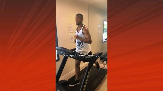 Recuperar o tempo perdido: com Atlético-PR de folga, Ribamar faz treino físico