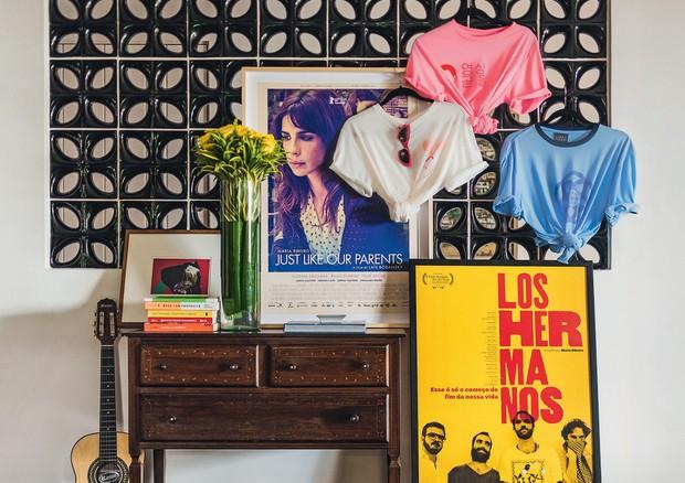 Algumas t-shirts da coleção da carioca (Foto: Fernando Schlaepfer)