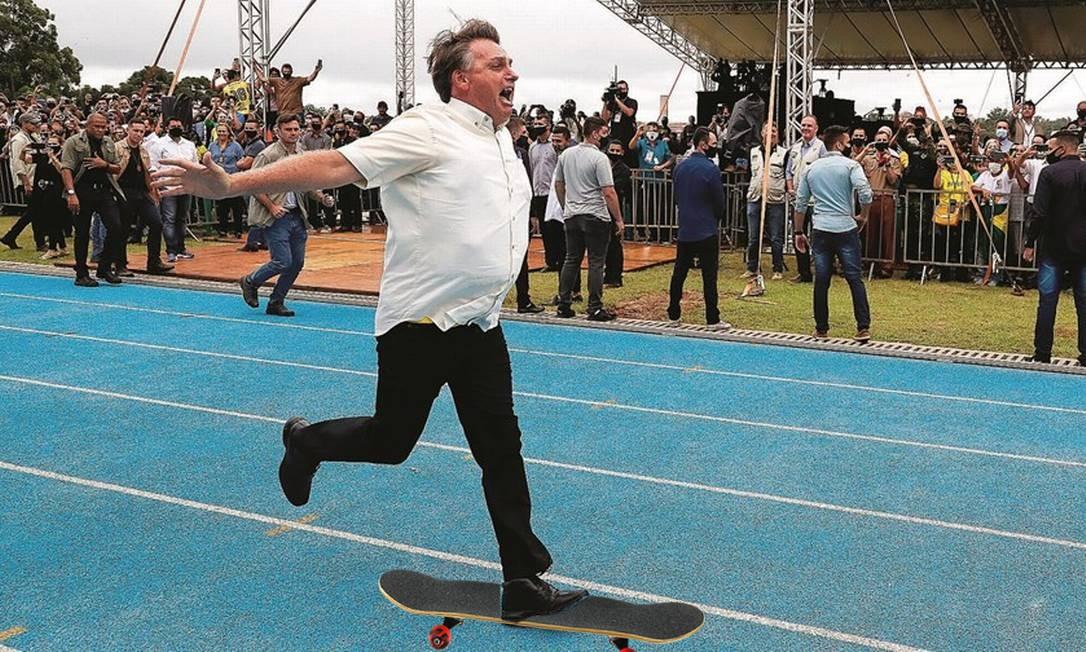 Bolsonaro desafia a gravidade e as instituições