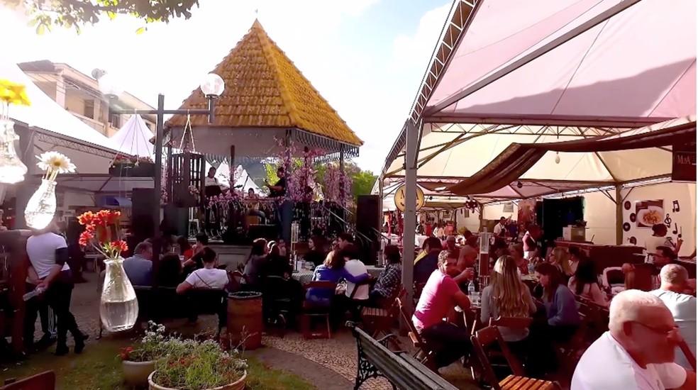 Festival Café com Música acontece em Cristina (MG) — Foto: Festival Café Com Música