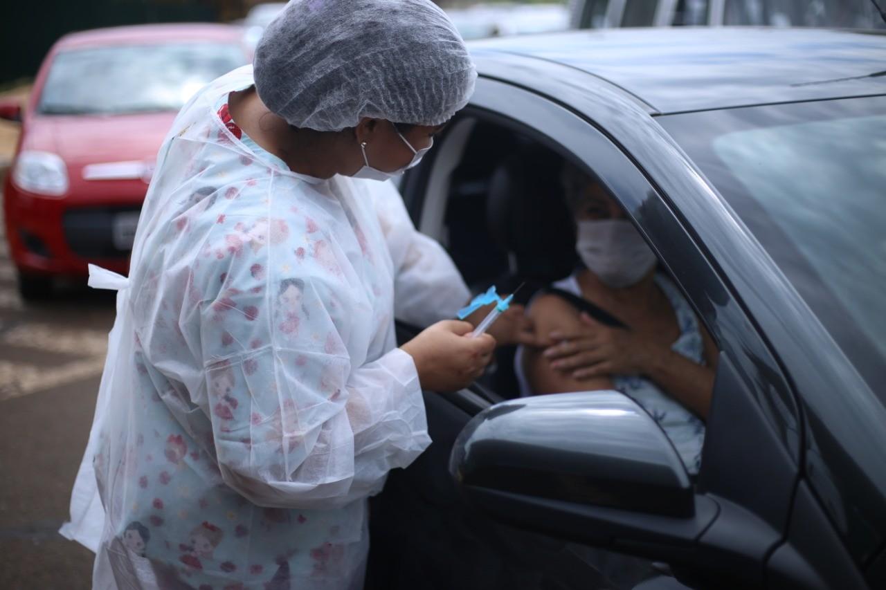 Vacinação contra gripe e sarampo será feita por sistema 'drive thru', em Foz do Iguaçu