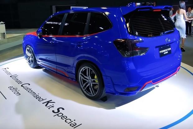 Subaru Forester FUCS (Foto: Reprodução/glitchFan2428)