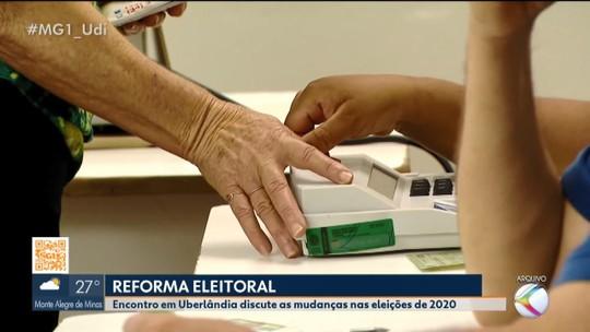 Em Uberlândia, Anastasia fala sobre os impactos da reforma política nas eleições de 2020