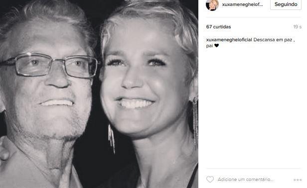 Pai da Xuxa falece (Foto: Instagram / Reprodução)