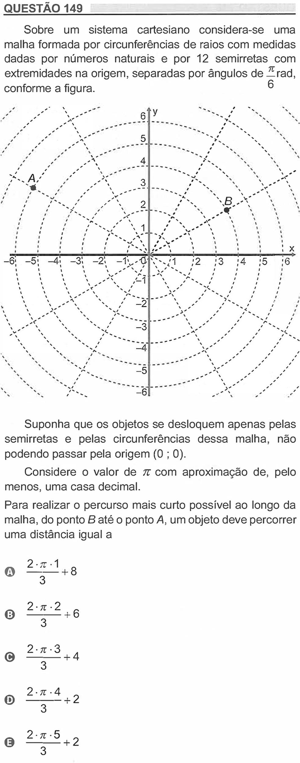 Enem 2018 - Prova Amarela - Pergunta 149 (Ciências da natureza e suas tecnologias) — Foto: Reprodução