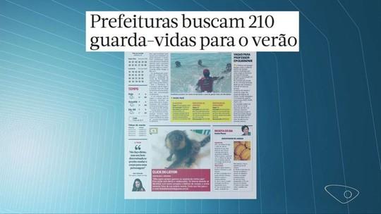Aracruz e Guarapari abrem inscrições para processo seletivo de guarda-vidas