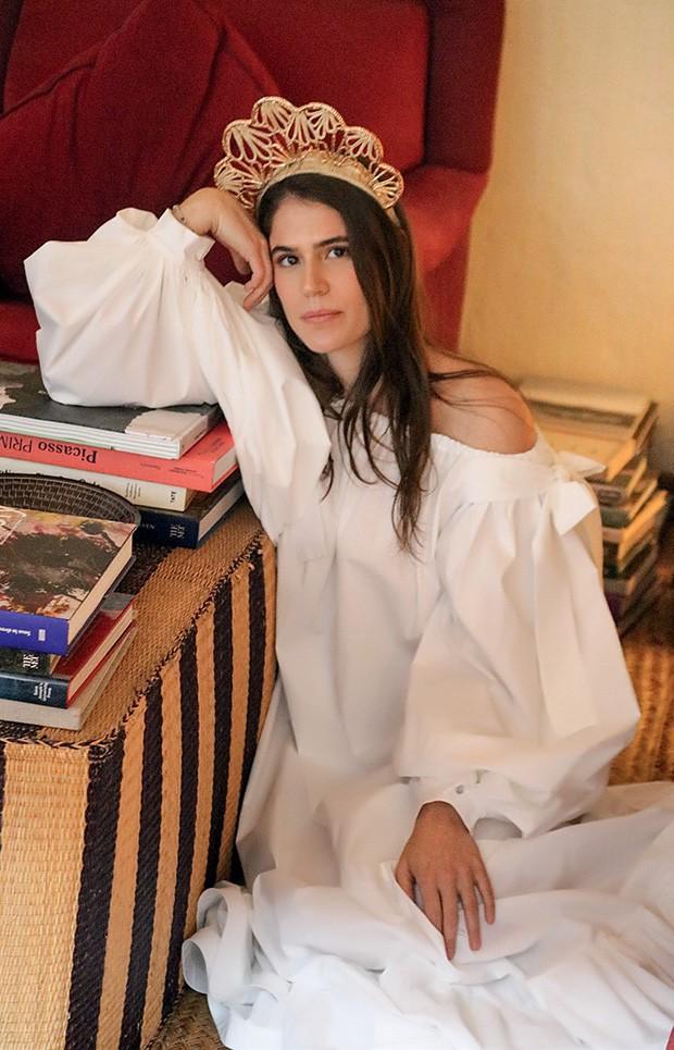 Lucia usa vestido Leal Daccarett (Foto: Joaquin Castillo)