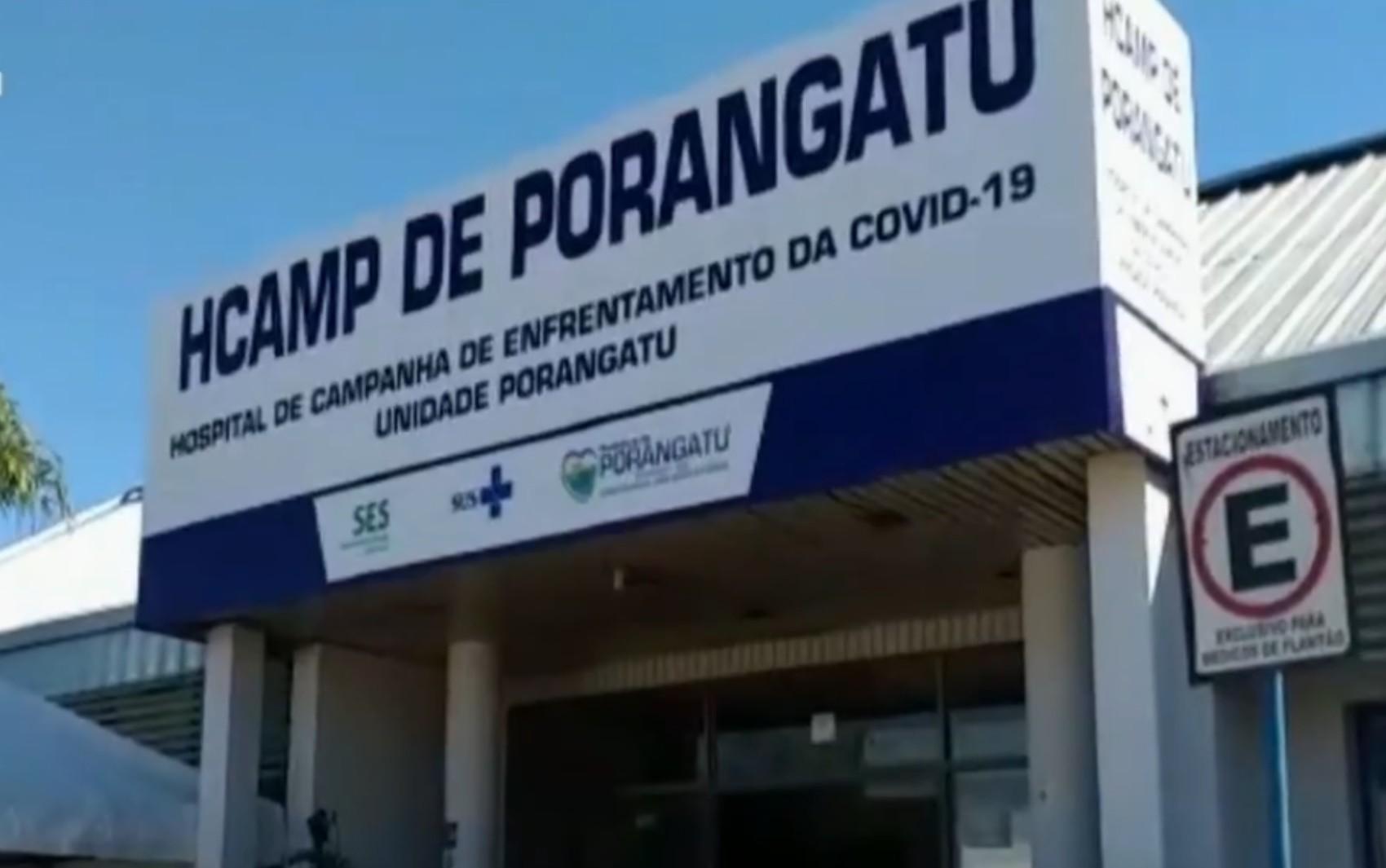 Hospital de Campanha de Porangatu está aberto, mas ainda não recebeu pacientes