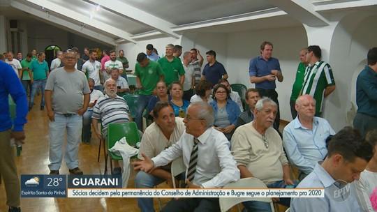 Com situação política resolvida, presidente do Guarani promete anunciar novidades no futebol