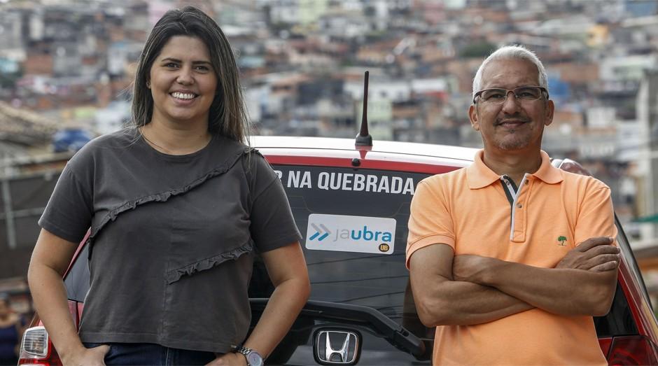 Alvimar e Aline da Silva, da JaUbra (Foto: Divulgação)