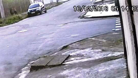 Câmera flagra ataque de suspeito de estuprar garota de 14 anos em SP; vídeo