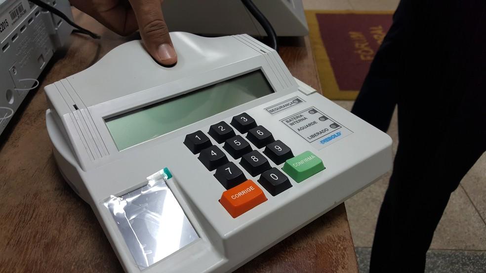Campanha do cadastramento biométrico começou em 2008, mas apenas se intensificou em anos posteriores (Foto: Pâmela Fernandes/G1)
