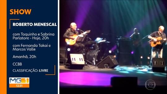 Roberto Menescal apresenta dois shows em Belo Horizonte neste fim de semana