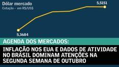 Inflação nos EUA e dados de atividade no Brasil dominam as atenções dos investidores