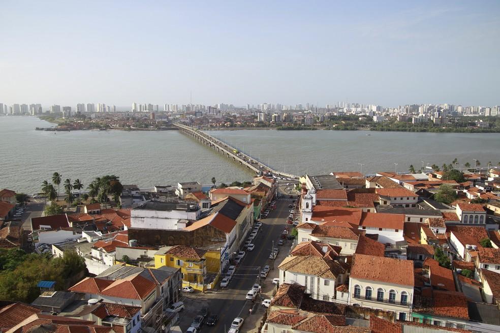 Vista área de São Luís. (Foto: Paulo Soares/O Estado)