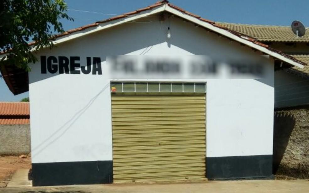 Igreja está fechada após a prisão dos pastores (Foto: Divulgação/ Polícia Civil)