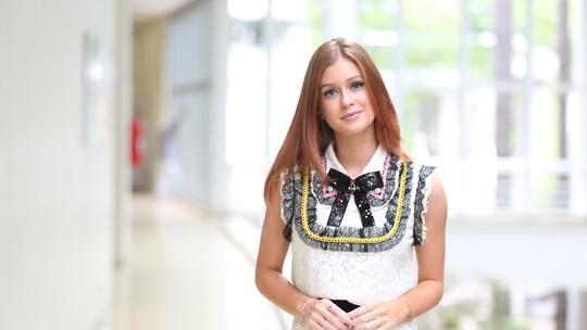 Marina Ruy Barbosa comenta autoconfiança de Emilly: 'Acho bacana'