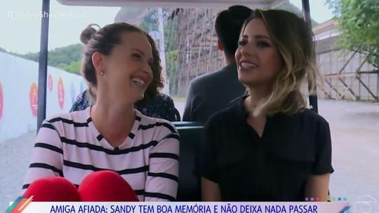 Sandy visita a amiga Fernanda Rodrigues em 'O Outro Lado do Paraíso' e revela: 'Sonho da vida fazer uma má'