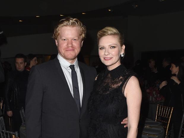Jesse Plemons e Kirsten Dunst (Foto: Getty Images)