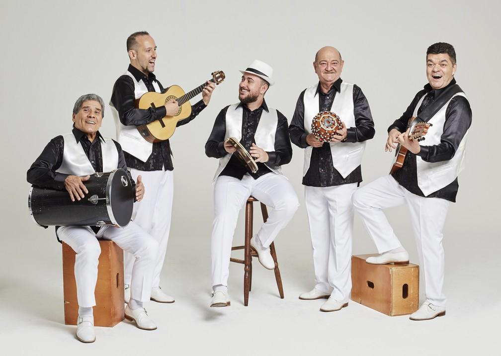 Grupo musical de samba 'Demônios da Garoa'  — Foto: Reprodução / Sesc