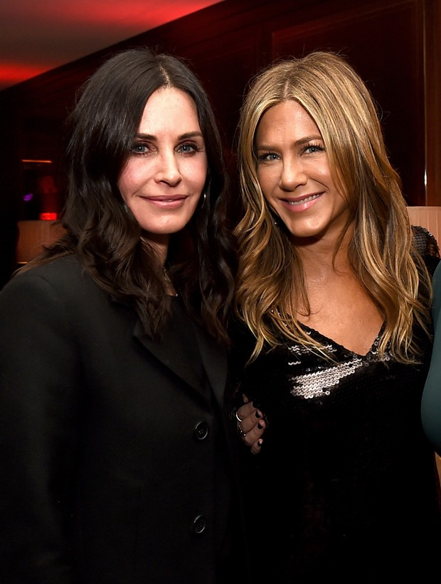 Courteney Cox e Jennifer Aniston (Foto: Kevin Winter/Getty Images)