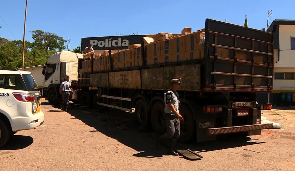 Polícia Rodoviária apreende 350 mil maços de cigarro contrabandeados em Campinas