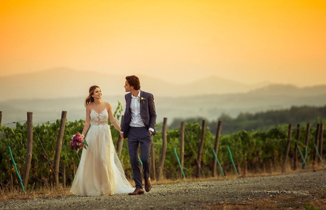 Sthefany Brito e Igor se casam na Itália (Foto: Sam Sacramento)